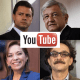Los candidatos en las redes sociales: YouTube