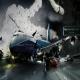 Recreación de un accidente aéreo... ¿Con Photoshop?