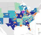 The Daily Beast presenta mapa interactivo sobre masacres en E.U.A.