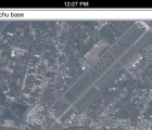 Base militar en los mapas de Apple