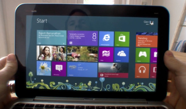 Comercial Windows 8