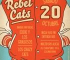MAÑANA: No te pierdas a los Rebel Cats en el Alicia