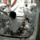 Astronautas en la ISS bailando al ritmo de Madonna