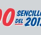 Los 100 sencillos del 2012