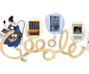 Ada Lovelace doodle