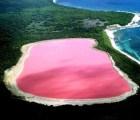 Otro lago rosa, ahora en Australia