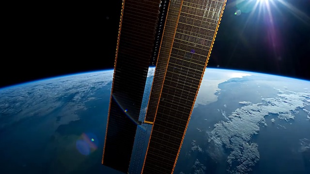Timelapse ISS