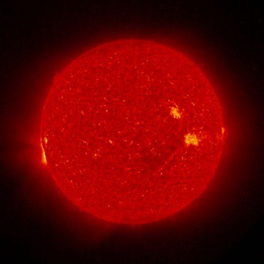 """Nuestro sol dejará de ser """"amarillo"""" para volverse rojo."""
