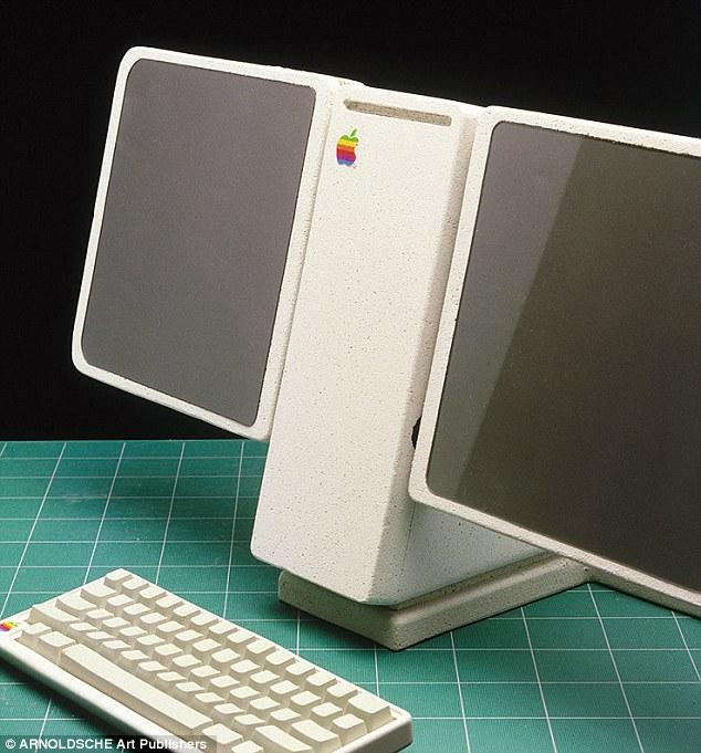 Diseño de una computadora inalámbrica con teléfono y touch Pad
