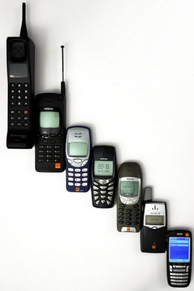 Un poco de la evolución de Nokia a lo largo de los años.