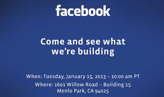Facebook 15 enero