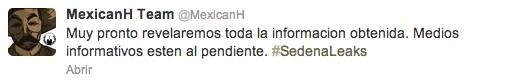 MexicanH tweet