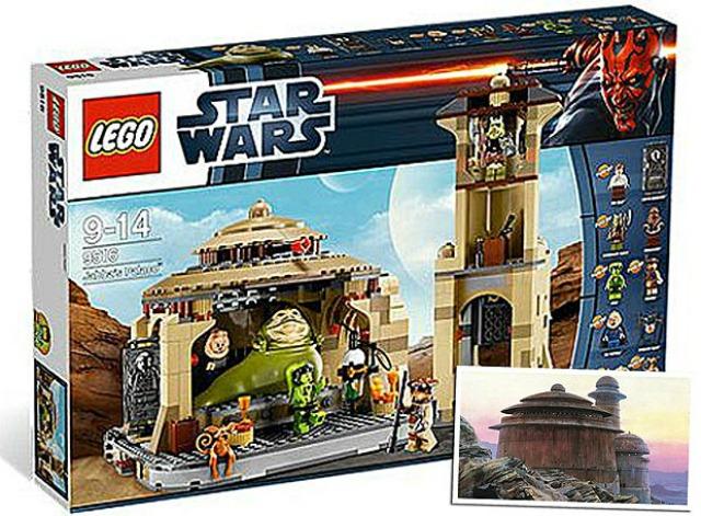 Palacio Jabba Lego