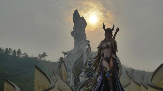 World of Warcraft parque China 05