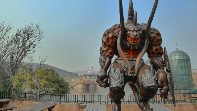 World of Warcraft parque China 06