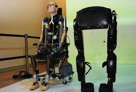 Rex robot humano 02