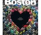 Boston Magazine y su gran portada en memoria del trágico maratón