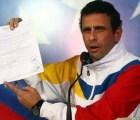Capriles impugnará los resultados de la elecciones en Venezuela