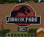 "Nerdgasmo: Recrea ""Jurassic Park"" en Minecraft"