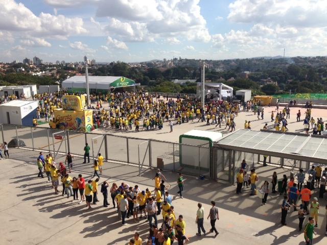 Brasil vs Uruguay Belo Horizonte
