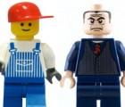 Las figuras Lego cada vez más enojadas, indica estudio