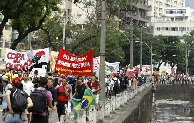 Protestas-Maracana