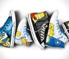 Lleva a los Simpsons en los pies con su propia edición de tenis Converse
