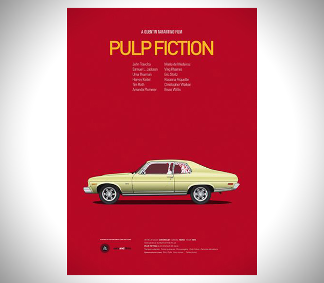 Iconic-Cars-and-Films-Posters-5