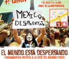 Protesta pacífica a un año de la imposición de Peña Nieto: Anonymus