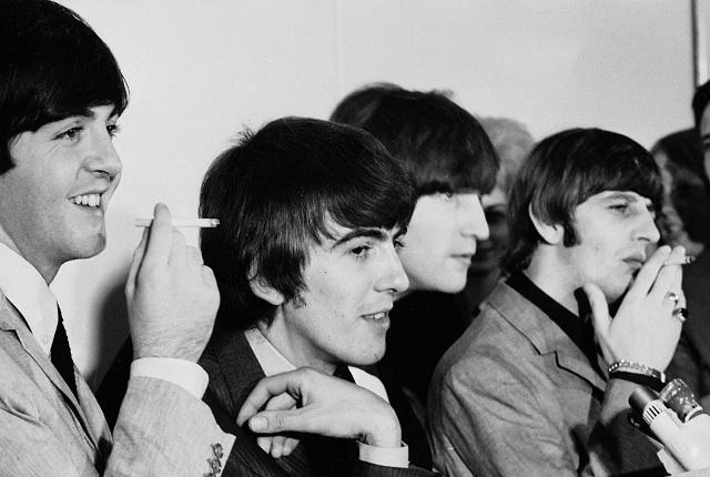 Beatles At San Francisco Press Conferance