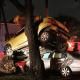 WTF!?!?!? Dos automóviles chocaron en el D.F. y, sin saber cómo, uno terminó encima del otro