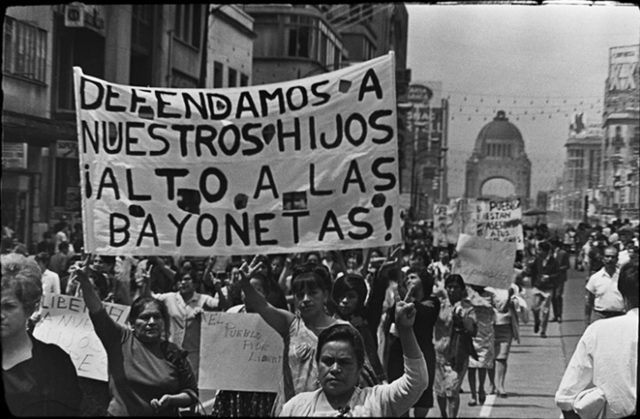 Resultado de imagen para estudiantes del ciencias Biológicas del IPN en el movimiento estudiantil de 1968