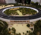 Ésta es la maqueta del nuevo campus de Apple