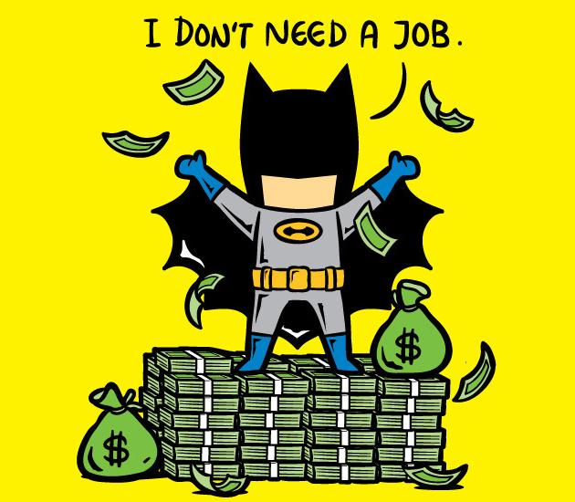 Resultado de imagen para superheroes profesiones