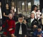 Y en la imagen del día... ¿Nuevo póster de película de terror? No, es el retrato de la Familia Real Danesa