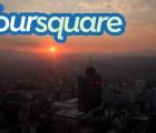 Los lugares más visitados en Foursquare durante el 2013