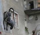 El edificio medieval que alberga aliens