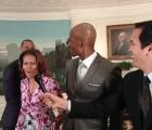Video: Michelle Obama cotorrea con basquetbolistas de la NBA