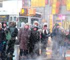 Galería: Nueva York declara estado de emergencia por las fuertes nevadas
