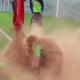 Así se divierten los jugadores del Odense en los entrenamientos