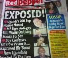Periódico de Uganda expone a 200 personas homosexuales