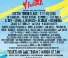The Killers, Justin Timberlake y muchos más en el V Festival 2014