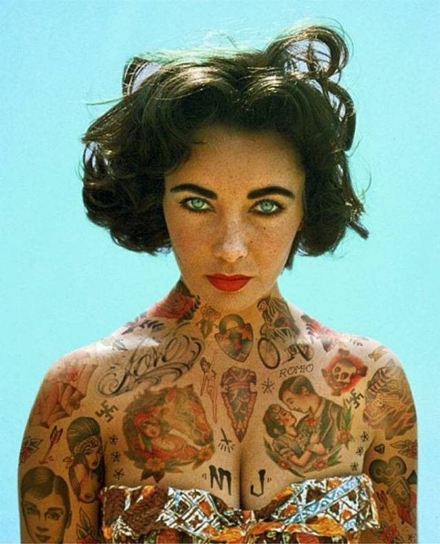 Famosos tatuados: el arte de Cheyenne Randall