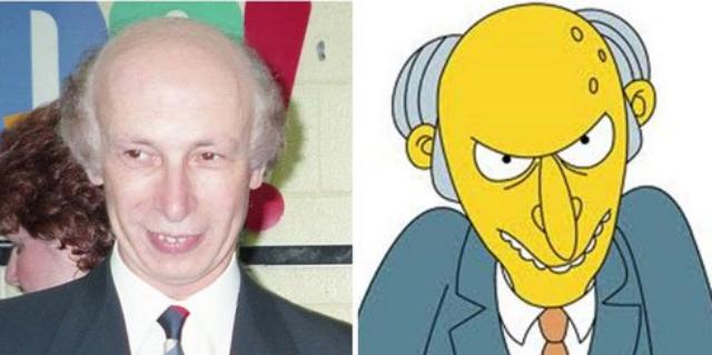 16 personas que se parecen a los personajes de Los Simpson  es neta Simpsons Characters Mr Burns