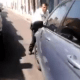 Lady Querétaro vs el policía de tránsito