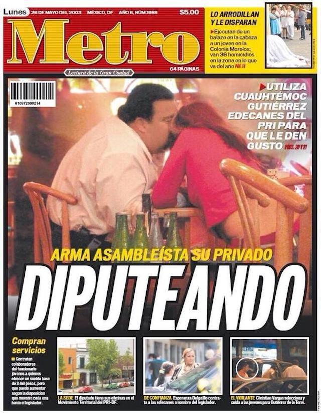 A Cuauhtémoc Gutiérrez no se le ha comprobado ningún delito: Camacho Metro