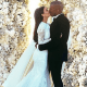 La foto de la boda de Kim Kardashian y Kanye rompió récord en Instagram