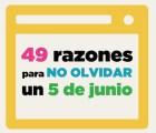 49 razones para tener presentes cada 05 de junio