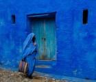 La hermosa ciudad azul de Marruecos