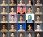 Mujer photoshopea su rostro en 25 países para comparar su belleza
